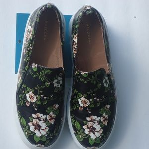 Halogen  Slip-On Sneakers, Floral Print Leather 8M